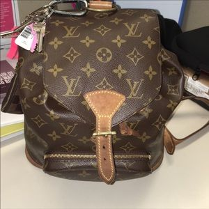 Louis Vuitton MM Montsouris backpack